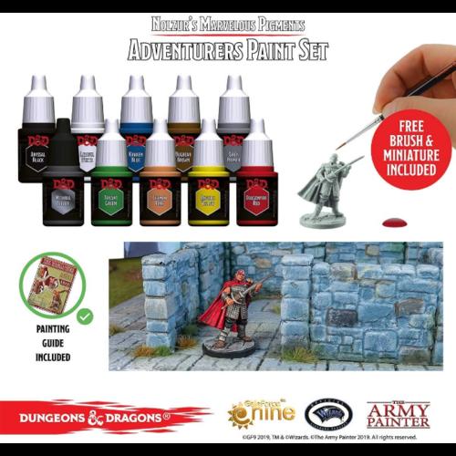 Armypainter Nolzur's Marvelous Pigments- Adventurer Paint Set