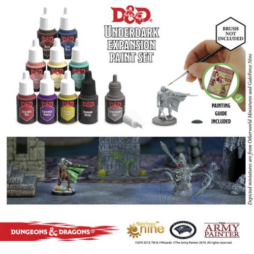 Nolzur's Marvelous Pigments - Underdark Paint Set