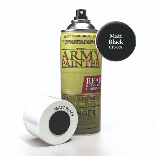 Armypainter Base Primer - Matt Black (AP)