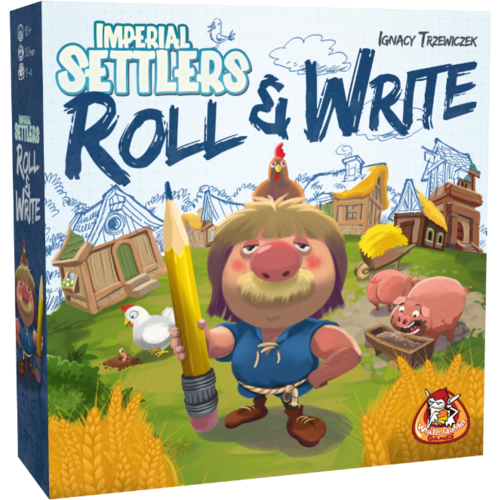 WGG Imperial Settlers- Roll & Write NL