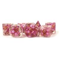 Resin Pearl Dice Pink/Copper