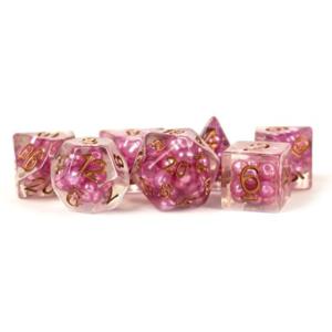 Metallic Dice Resin Pearl Dice Pink/Copper