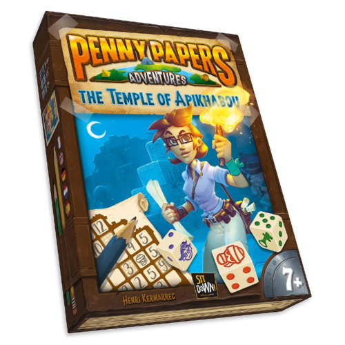 - Penny Papers Adventures- The Temple of Aplikhabou NL
