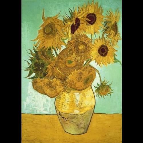 Wentworth- Puzzel- Sunflowers - Vincent van Gogh (40)