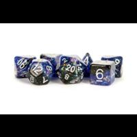 Eternal Resin Polyhedral Dice Set Blue/Black