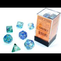 Nebula Oceanic/Gold Luminary 7-Die Set