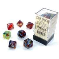 Nebula Primary/Blue Luminary 7-Die Set