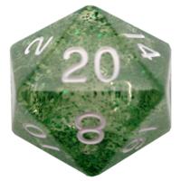 Mega d20 35mm Ethereal Green/White