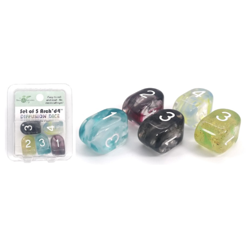 - Set of 5 Arch'd4 Oversized D4 High-Visibility