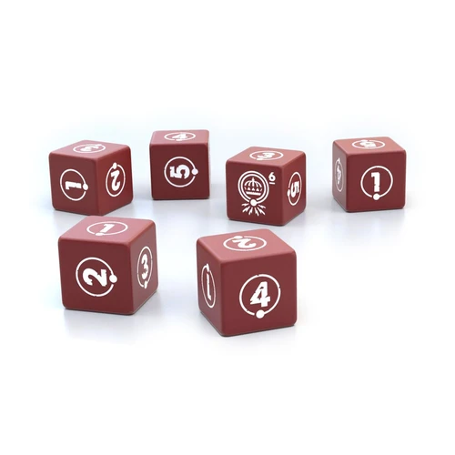 Free League Things from the Flood RPG- Dice Set
