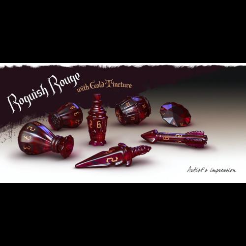 Roguish Rouge - PolyHero Rogue Dice