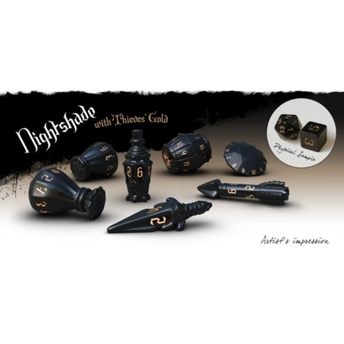 Nightshade - PolyHero Rogue Dice