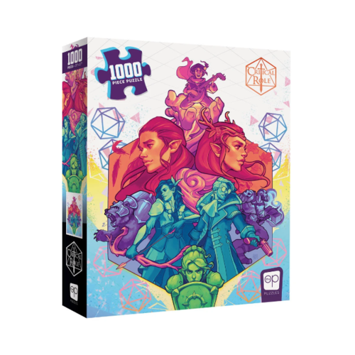 Critical Role Vox Machina puzzle (1000 pcs)