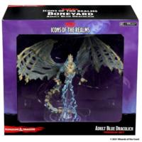Blue Dracolich- D&D Icons of the Realms- Boneyard Premium Set