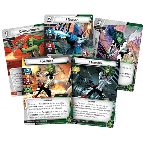 Fantasy Flight Marvel Champions LCG- Gamora Hero Pack