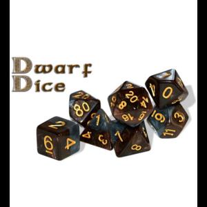 Gate Keeper Games Halfsies Dice Dwarf (7 dice Poly set)