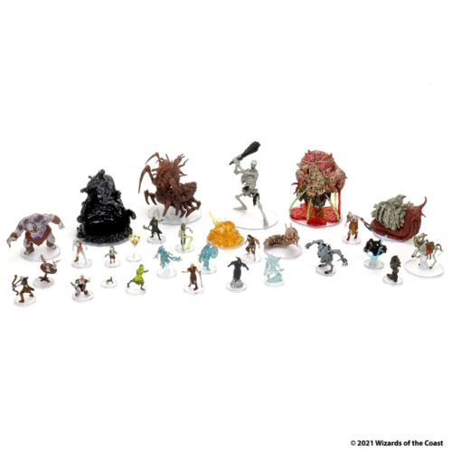 Wizk!ds D&D Icons of the Realms Miniatures- Boneyard Booster