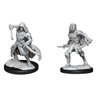 D&D Nolzurs unpainted Miniatures; Warforged Rogue