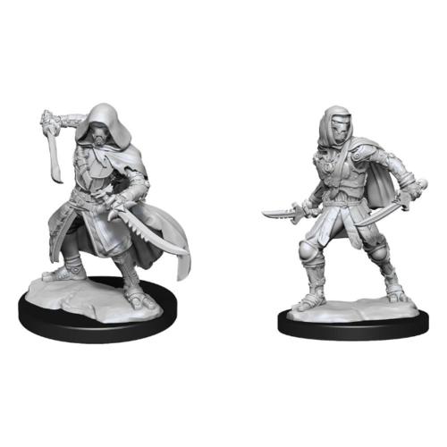 Wizk!ds Unpainted Miniatures - Warforged Rogue