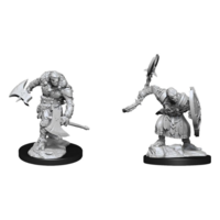 Unpainted Miniatures - Warforged Barbarian