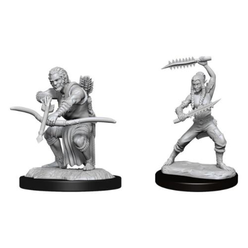 Wizk!ds Unpainted Miniatures - Wildhunt Shifter Ranger