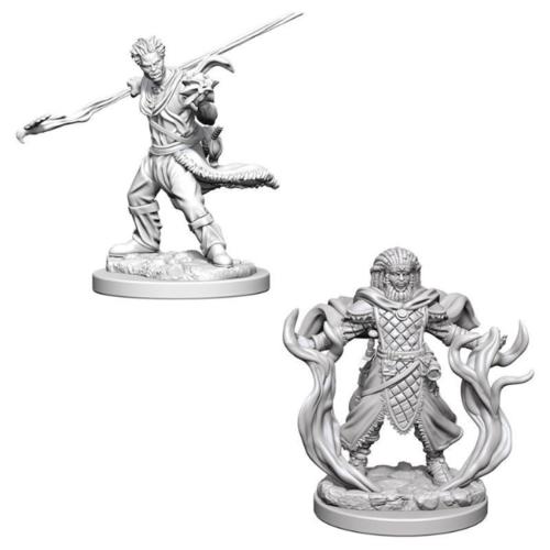 D&D Nolzurs unpainted Miniatures;  Human Druid Male