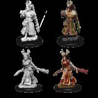 D&D Nolzurs unpainted Miniatures;  Human Druid Female