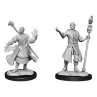 Unpainted Miniatures - Half-Elf Wizard Male