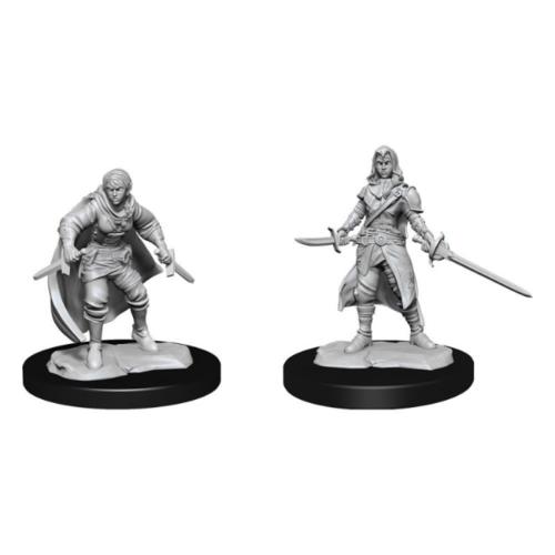 D&D Nolzurs unpainted Miniatures;  Half-Elf Rogue Female
