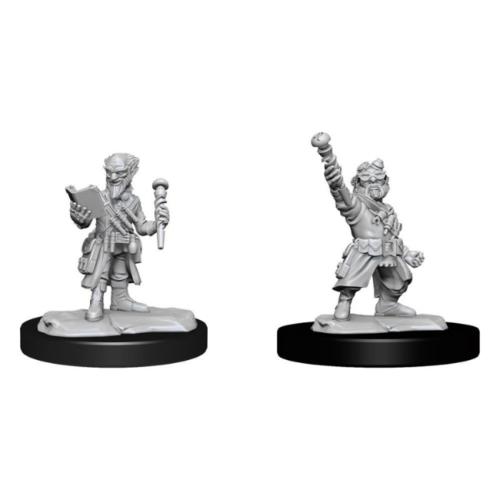 Wizk!ds Unpainted Miniatures - Gnome Artificer Male