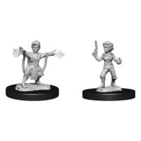 Unpainted Miniatures - Gnome Artificer Female