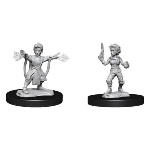 Wizk!ds Unpainted Miniatures - Gnome Artificer Female