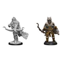 Unpainted Miniatures -  Firbolg Ranger Male