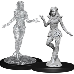 Wizk!ds Unpainted Miniatures: Nymph & Dryad (PF)
