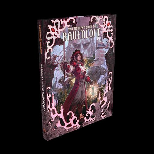 WotC - D&D 5E - Van Richten's Guide to Ravenloft - Alternate Art Cover