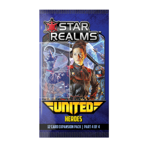 Wise Wizard Games Star Realms- United Heroes
