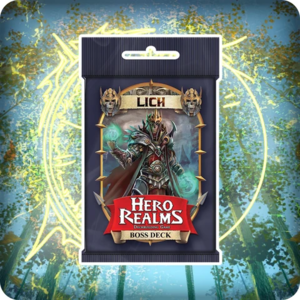Wise Wizard Games Hero Realms- Lich Boss Deck