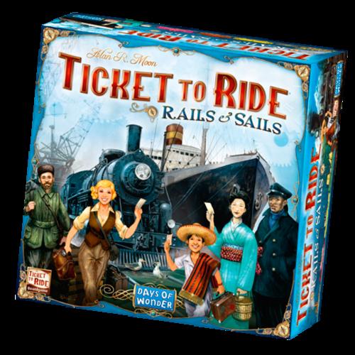 Days of Wonder Ticket to Ride NL- Rails & Sails