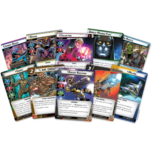 Fantasy Flight Marvel Champions LCG- Galaxy's Most Wanted expansion