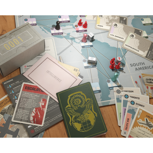 Z-Man Games Pandemic ENG- Legacy Season 0