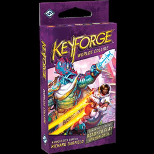 Fantasy Flight Keyforge- Worlds Collide Deck