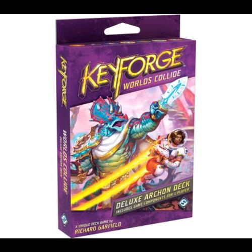 Fantasy Flight Keyforge- Worlds Collide Deluxe Deck