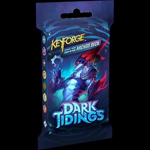 Fantasy Flight Keyforge Dark Tidings Archon Deck