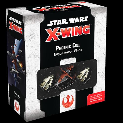 Fantasy Flight Star Wars X-wing 2.0- Phoenix Cell Squadron