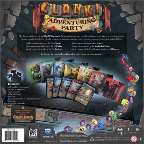 Renegade Studios Clank Adventuring Party