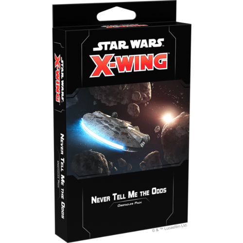 Fantasy Flight Star Wars X-Wing 2.0- Never Tell me the Odds