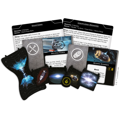 Fantasy Flight Star Wars X-Wing 2.0- Fully Loaded Devices