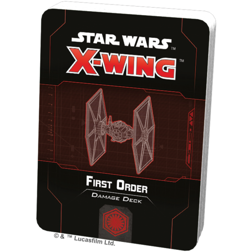 Fantasy Flight Star Wars X-wing 2.0 First Order Damage Deck