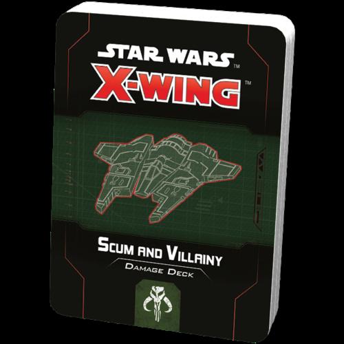 Fantasy Flight Star Wars X-wing 2.0 Scum and Villainy Damage Deck