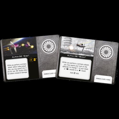 Fantasy Flight Star Wars X-Wing 2.0 - Nimbus Class V-Wing